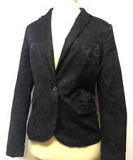 Forever 21 Black Floral Blazer Size M NWT