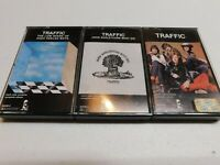 Lot of 3 Cassettes Traffic Low spark of high heeled boys & Barleycorn must die