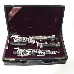 Yamaha Model YOB-841L Custom Handmade Oboe SN 010325 SUPERB