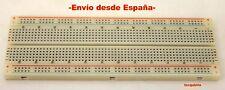 Placa para pruebas MB102, 830 Pto.  Breadboard, protoboard, arduino,electronica.
