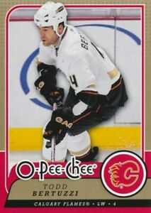 2008-09 O-Pee-Chee #412 TODD BERTUZZI - Calgary Flames
