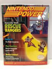 Nintendo Power Magazine July August 1990 Chip n Dale Rescue Rangers NES