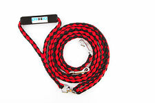 "Plixio Dual Dog Leash 52"" Long No Tangle Double Walk Pet Coupler 2 Dogs Nylon"