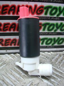 TOYOTA YARIS 1999 2000 2001 2002 2003 2004 2005 REAR WINDSCREEN WASHER JET PUMP