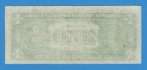 1981 $1 One Dollar Federal Reserve New York Insufficient Ink Error Note