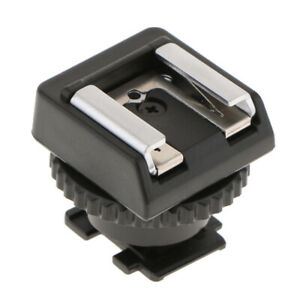 MSA-MIS Standard Cold Shoe Adapter Converter for Sony Camcorder