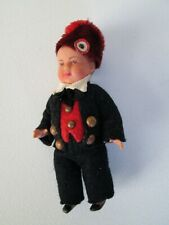 "Vintage International Ethnic World Doll 4"" boy man articulated Russian?"