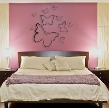 Wall Stickers Vinyl Decal Beautiful Butterfly Coolest Decor For Bedroom  z1579