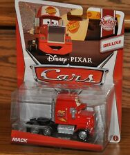 2013 Disney Cars Die Cast Rust-eze Deluxe Edition Mack Semi Truck #2 of 8 NEW