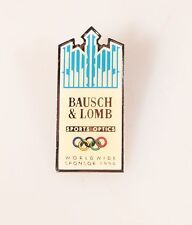 BAUSCH AND LOMB OLYMPIC PIN 1994