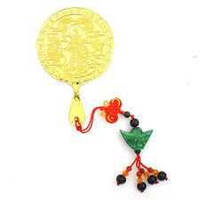 * Chinese New Year  Feng Shui * Samantabhadra Mirror with Jade Hanging - Small