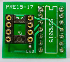 DIY: REVIVE AUDIO PRE15-17: IC MICROPHONE PREAMPLIFIER ADAPTER BOARD, SSM2015