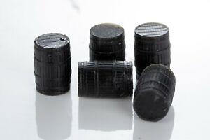 4mm | 1:76 | OO Gauge Scale Wooden Barrels