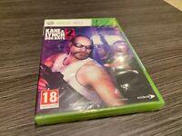 Kane & Lynch Dog Days 2 Xbox 360 Versiegelt Neu IN Spanisch