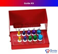 Dental Drill Implants Guide & Positioning Kit Titanium Guided Bur Surgery Pins