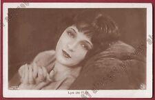 LYA DE PUTTI 44 ATTRICE ACTRESS CINEMA MUTO SILENT MOVIE STAR Cartolina FOTOGRAF