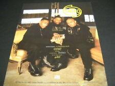 Intro .sometimes it happens with one album Original 1993 Promo Poster Ad mint