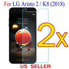 2x Clear LCD Screen Protector Guard Cover Film For LG Aristo 2 /MX210 / K8(2018)
