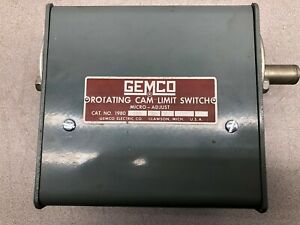 NEW NO BOX GEMCO ROTATING CAM LIMIT SWITCH 1980-102R-SP-X