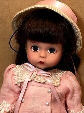 Htf 2002 Madame Alexander Easter Doll for Lillian Vernon w/ Hat & Basket 31690