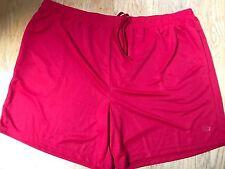 Red STARTER SHORTS Track Gym Athletic Stretch Pockets 3XL 48-50