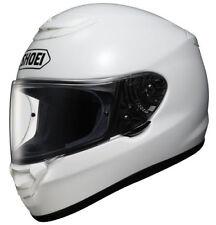 Cascos Shoei color principal blanco de motocicleta para conductores