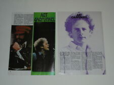 Art Garfunkel Cat Stevens Peter Lundblad clippings Sweden 1970s