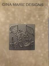 Gina Marie designs metal cutting dies - Little Leaves  - New release -  Fall
