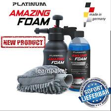 Platinum Amazing Foam,  Autowäsche, Autositze, Fussmatten, Autopflege, Schaum
