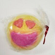 LUSH Cosmetics Lovestruck Emoji Bubble Bar NEW Valentine's Day Bubble Bath