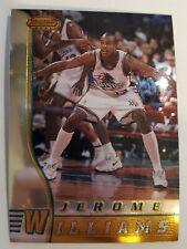 Jerome Williams Rookie Detroit Pistons 1996-97 Bowman's Best #R12 Card NMM