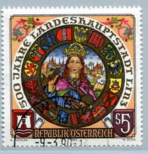 Österreich 1983 500 J. Landeshauptstadt Linz - Kaiser Friedrich III.  1990 °