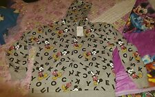 Girls size 16 mickey mouse  hooded jacket