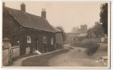 Rutland; Wing Village, View Up Church St RP PPC, 1930 PMK To Miss Binder, Woking