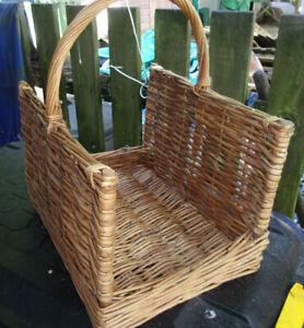 Fireside Log Basket VGC
