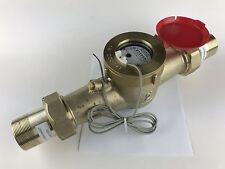 "DAE MJ-200R 2"" Lead Free Hot Potable Water Meter, Pulse Output + Couplings"