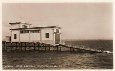 Southend on Sea Lifeboat House Slipway unused RP old pc Edw. A Doo Ltd