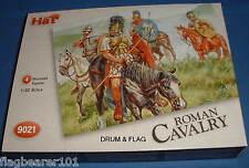 Défectueux set-chapeau 9021 roman cavalry. 4 x échelle 1/32 non peinte en plastique