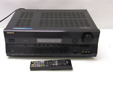 Black Onkyo TX-SR575 7.1 Channel Home Theater Receiver HDMI 1080i Bundle