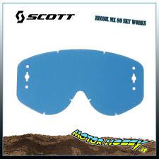 LENTE SCOTT RECOIL XI - SERIE 80 SKY WORKS PRODOTTO ORIGINALE SCOTT COLORE BLU