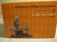Department 56 Halloween Village Is This Seat Taken # 4030781