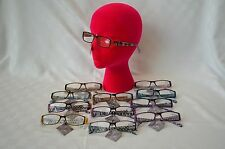 Reading Glasses, +3.25 power, Women's, Box of 12, Special Eyes, Assorted, NEW