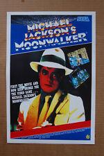 Moonwalker  Arcade Flyer Video Game promotional poster Michael Jacksons__
