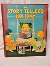 A STORY TELLER'S HOLIDAY Janet Scott Illustrated Rare 1st Children's Edition
