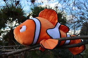 "🐠 2002 vintage Hasbro - Jumbo Finding Nemo plush toy clownfish ""27"" 🐠"