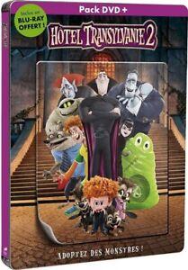 Hôtel Transylvanie 2 [ DVD + Blu-ray - Édition SteelBook + Magnet lent. ]  NEUF