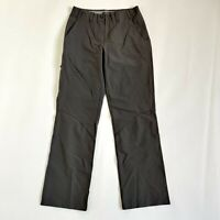 Ladies Rohan Grey Roamers Chinos Trousers Size 8 S UV Protection UPF Zip Pocket