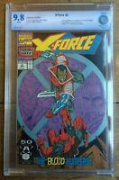 X-Force #2 1st App of Weapon X 2nd App Deadpool CBCS 9.8 0008757aa015