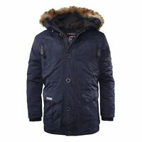 Geographical Norway Very Warm Winter Jacket, Coat, Parka, Outdoor Blue New
