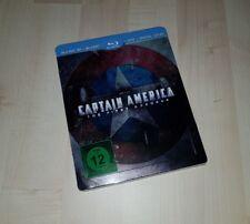 CAPTAIN AMERICA 1: The First Avenger 3D ** geprägtes Blu Ray Steelbook ** NEU